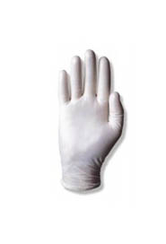 Powdered White Vinyl Glove, Rolled Cuff Dura-Touch #TR34175L000