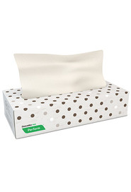 Flat Box Facial Tissue Perform, Latte, 100 sheets/box #CC00F300000