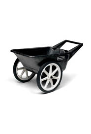 Cart with Semi-Pneumatic Wheel 3.5 Cu. Ft. Big Wheel #RB565461NOI