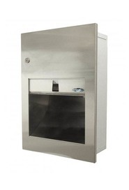 Stainless Steel Fully Recessed Towel Dispenser #FR00135A000