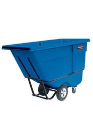 Chariot basculant rotomoulé 1 verge cube Rubbermaid 1315 #RB001315BLE