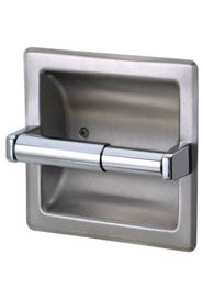 Recessed Toilet Tissue Holder Frost # 1134 #FR01134S000