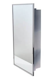 Stainless Steel Medicine Cabinet with Mirror #FR00800S000