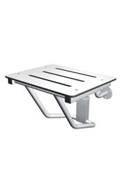 Retractable Stainless Steel Shower Seat #FR000972000