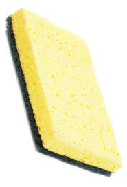 Cellulose Scouring Sponge - green #AG000476000