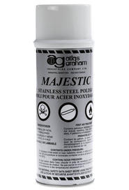 Majestic Stainless Steel Polish - Aerosol #AG040816000