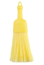 Yellow Plastic Whisk Broom #AG007509000