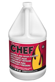 Griddle, Fryer and Oven Cleaner CHEF #JH151063000