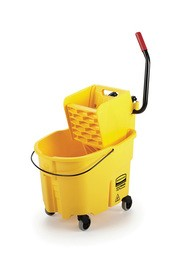 Side Press Bucket & Wringer Combo WaveBrake, 8.75 gal #RB758088JAU