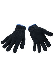 Light Duty String Knit Gloves, Blue #SE00012B00L