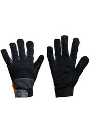 Synthetic Leather Mechanics Gloves #SE000AMT00L