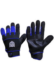 Synthetic rubberized leather gloves with anti-slip grip #SE00ASVB00M