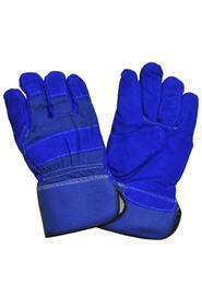 Gants cuir refendu, doublure en simili mouton #SEF3010DP0L