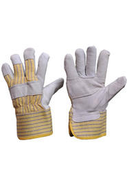 Pile lined cowhide grain glove #SEFC2010P00
