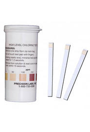 Chlorine Test Strips 1,000ppm #PCCHL1000V0