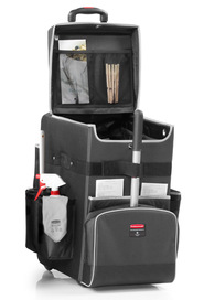 Chariot de ménage portatif Quick Cart Executive Series #RB190246500