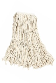 Economy Cotton Wet Mop Narrow Band #RBV11600BLA