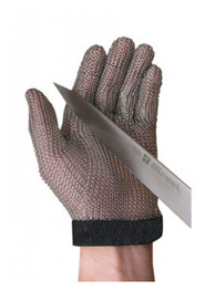 Stainless Steel Mesh-Cut Resistant Gloves #ALMGA5150XS