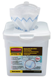 Disposable Microfiber Dust-Cloth Starter Kit HYGEN #RB192875600