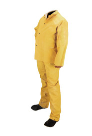 PVC Reusable Yellow Rain Suit #SE080103000