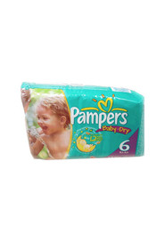 Couche taille 6 Pampers Baby Dry, 35 lb et plus #PG45220D000