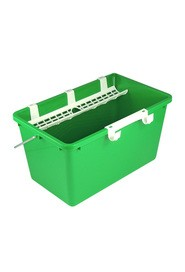 Rectangular 4 gal Bucket for Glass Cleaning #HW0QB120000