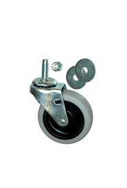"3"" Casters for Brute Containers Dolly 3526 & 3536 #PR3530L1000"