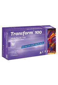 Aurelia Transform Nitrile Powder Free Examination blue Gloves #SE9889A700M