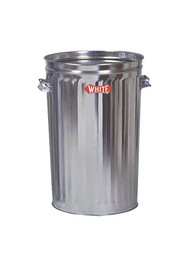 Metal Galvanized Garbage Cans #WH12143NL00