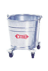 Mobile Galvanized Metal Buckets #WH000260000