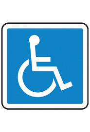 Pictogram Safety Signs for Handicap Restroom #TQSAW814000