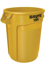 Waste Container Rubbermaid 2655 Brute with venting channels #RB002655000