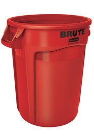 Waste Container Rubbermaid 2655 Brute with venting channels #RB002655ROU