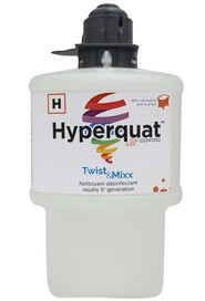 Fragrance Free Neutral 5th Generation Disinfectant Cleaner HYPERQUAT for Twist & Mixx #LMTM6875HIG