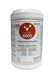 Disposable Disinfectant Wipes ALI-FLEX 6000 #LM009655L95