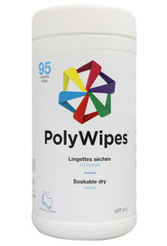 Soakable Dry Wipes POLYWIPES #LMPOLYWI095