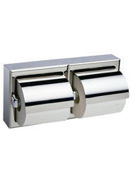 Surface-Mounted Toilet Tissue Dispenser with Hoods B-6999 #BO006999000
