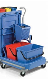 Removable Cart with Side Press Wringer NCK 100 #NA759126000