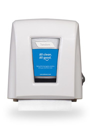 Tandem Small Footprint Roll Towel Dispenser #CC00C339000