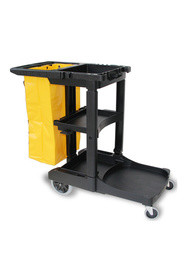Janitors Cart with 100L bag #GL003001000