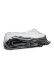 White Recycled Terry Towels 8 lbs #WITT161908C