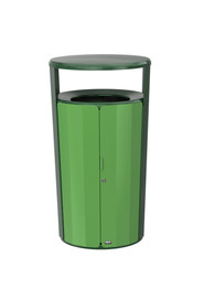 Waste Container Resist™ Fan 33 Gals #RB200684900