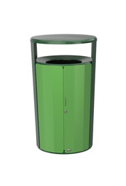 Waste Container Resist™ Fan 45 Gals #RB200685100