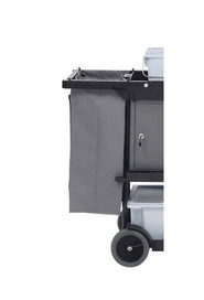 Bag with Zipper for Janitor Cleaning Cart Marino #MR149662GRI