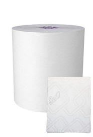 Scott Essential White High Capacity Hard Roll Towels 950' #KC002001000