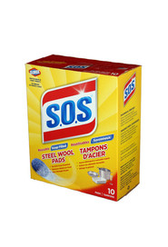 S.O.S Reusable Steel Wool Pads #JH258315000
