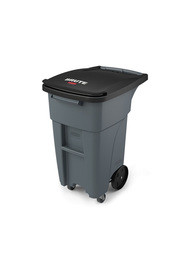 Brute Waste Rollout Containers with Casters 32 gal #RB197194700
