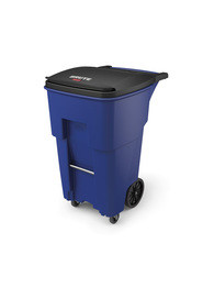Brute Waste Rollout Containers with Casters 65 gal #RB197197300