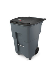 Brute Waste Rollout Containers with Casters 95 gal #RB197199400