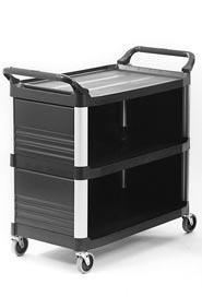 Service Cart 4093 with 3 Shelves XTRA #RB004093NOI